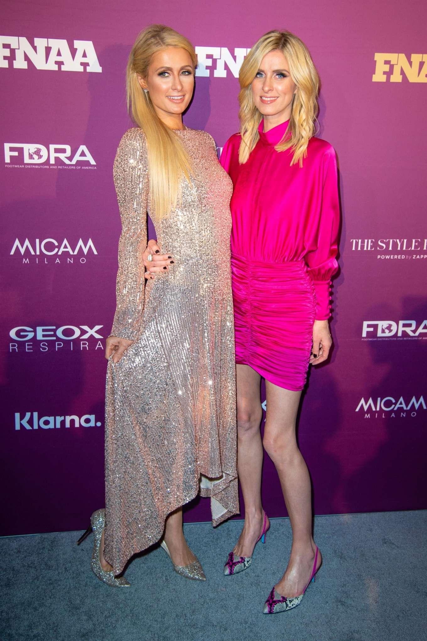 Nicky Hilton - Footwear News Achievement Awards IAC in New York City