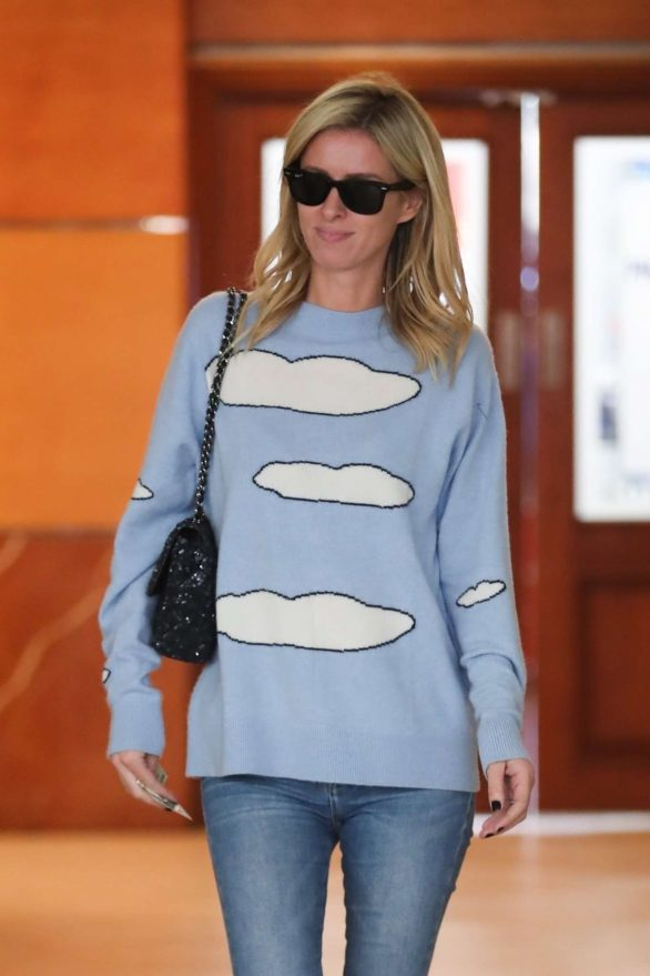 Nicky Hilton - Grabs lunch at E Baldi in Beverly Hills