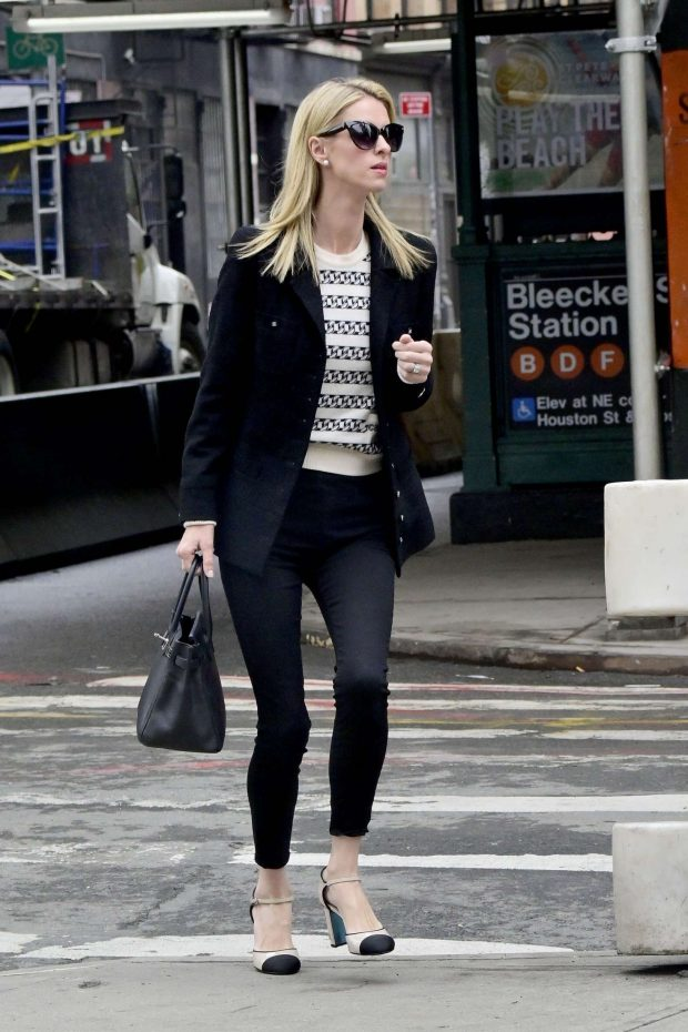 Nicky Hilton - Heads for a meeting in Soho