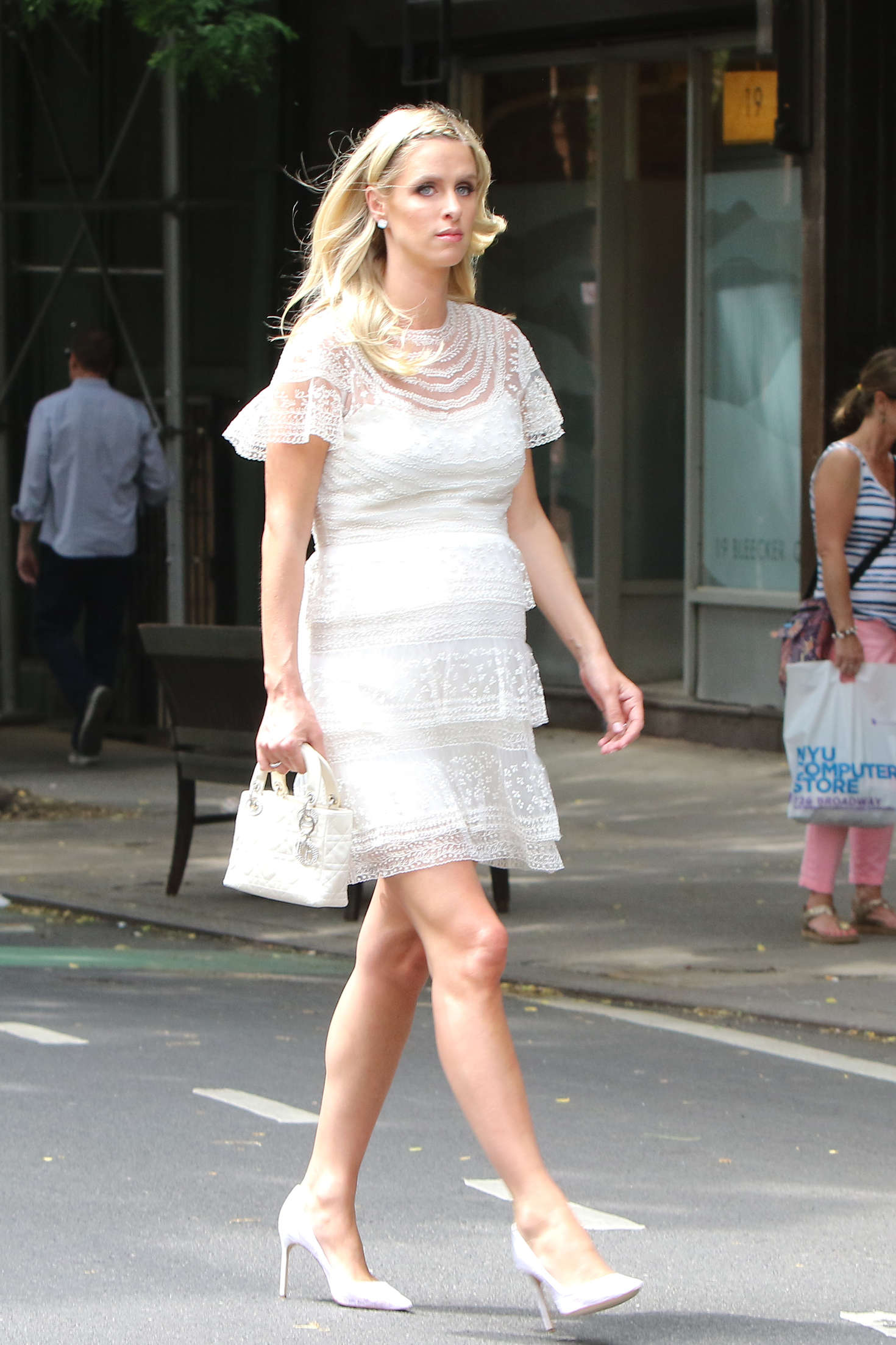 Nicky Hilton heads to lunch in New York