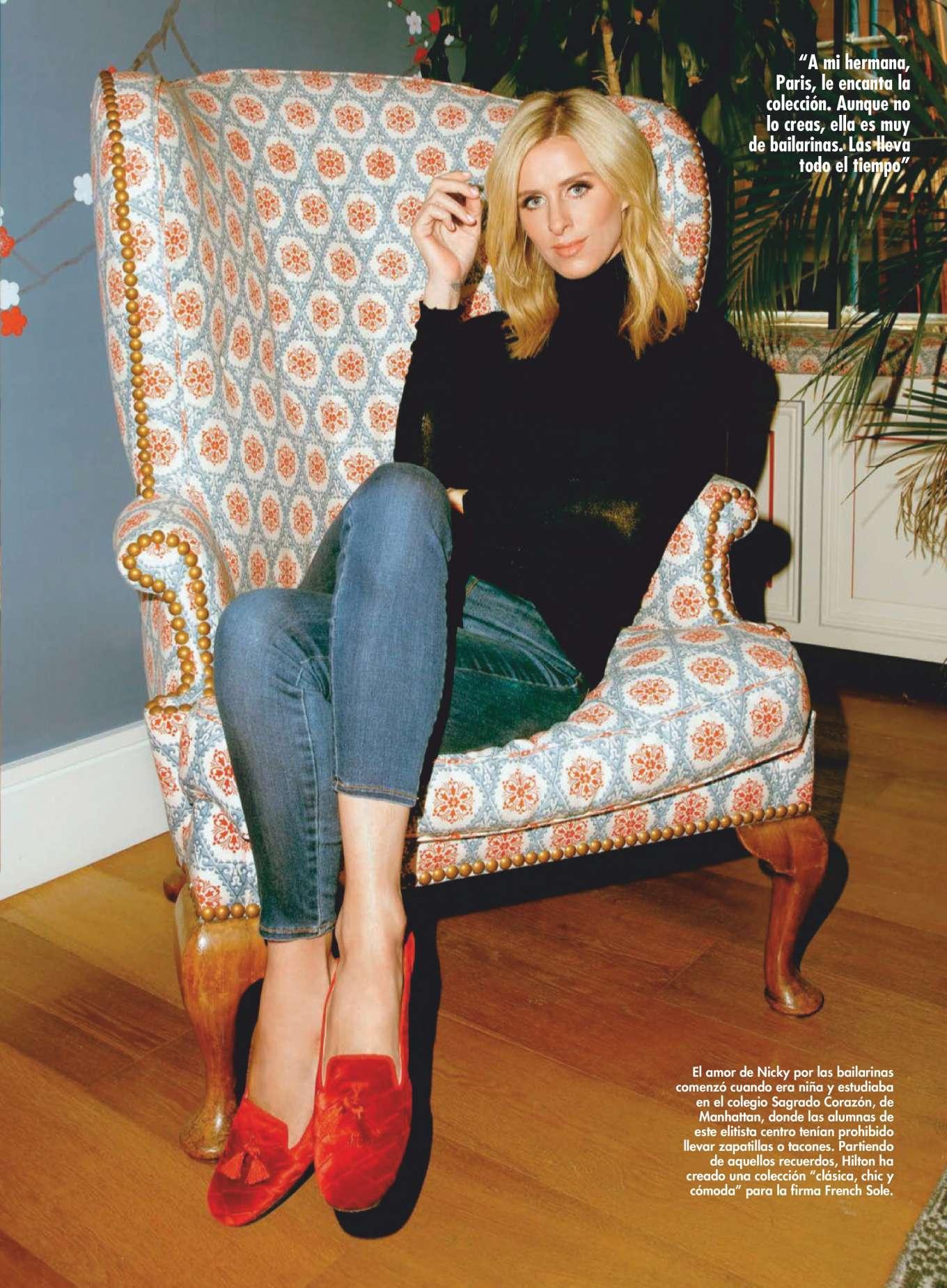 Nicky Hilton - Hola! US en Espanol Magazine (December 2019/January 2020)