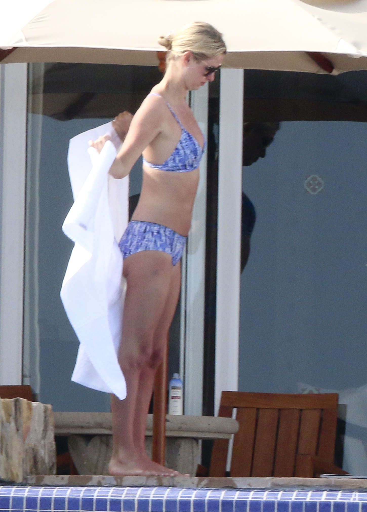 Nicky Hilton in Bikini at Pool in Los Cabos