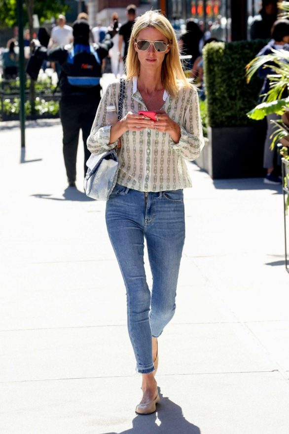 Nicky Hilton in casual look out in New York