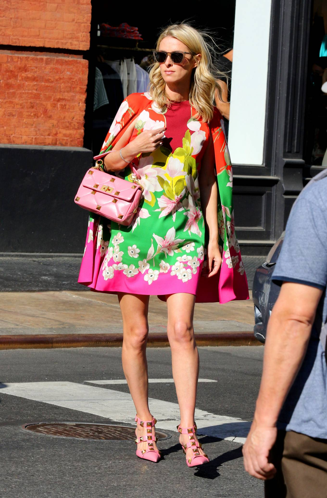 Nicky Hilton 2021 : Nicky Hilton – In floral dress out in New York-02