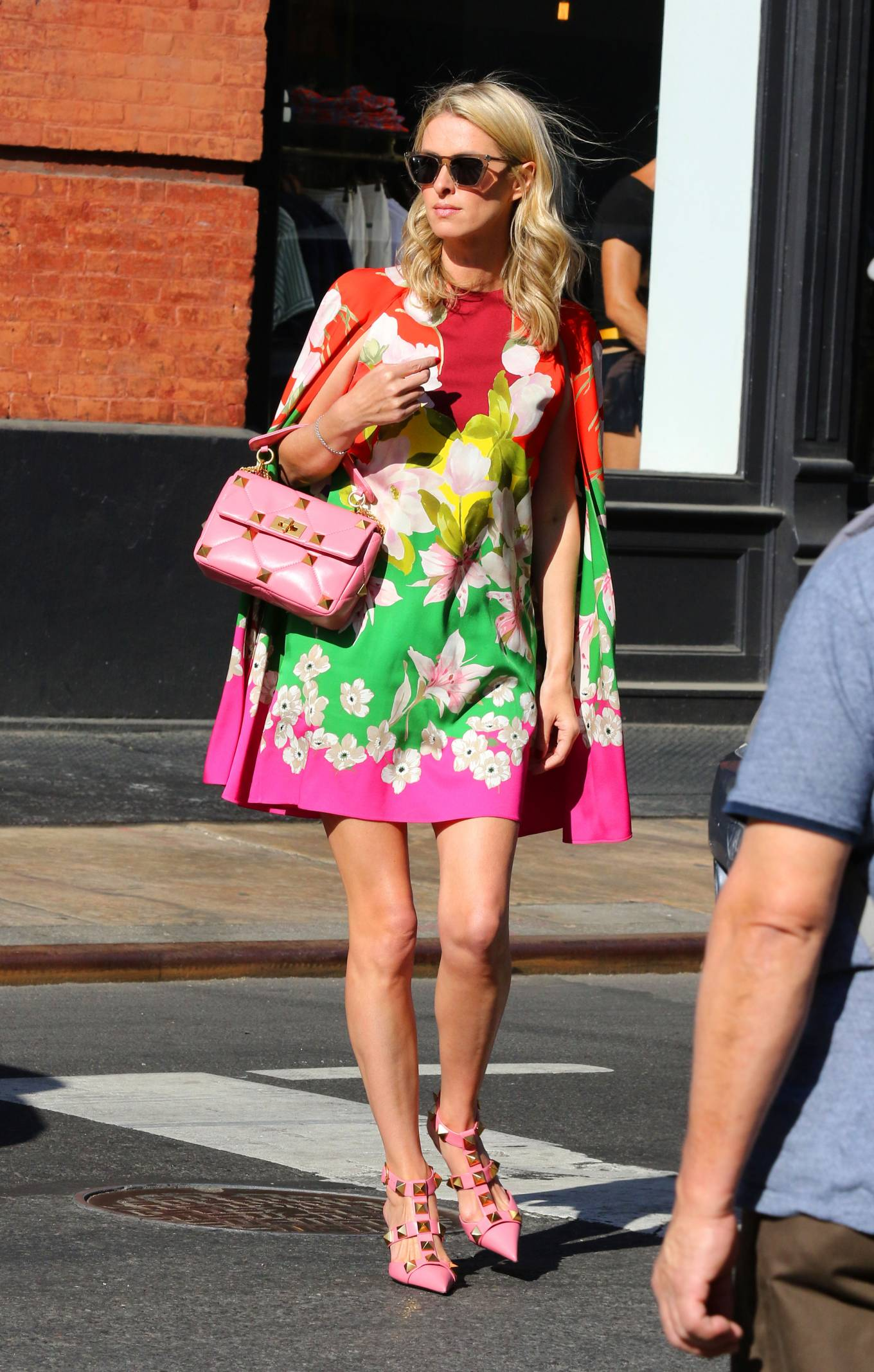 Nicky Hilton 2021 : Nicky Hilton – In floral dress out in New York-05