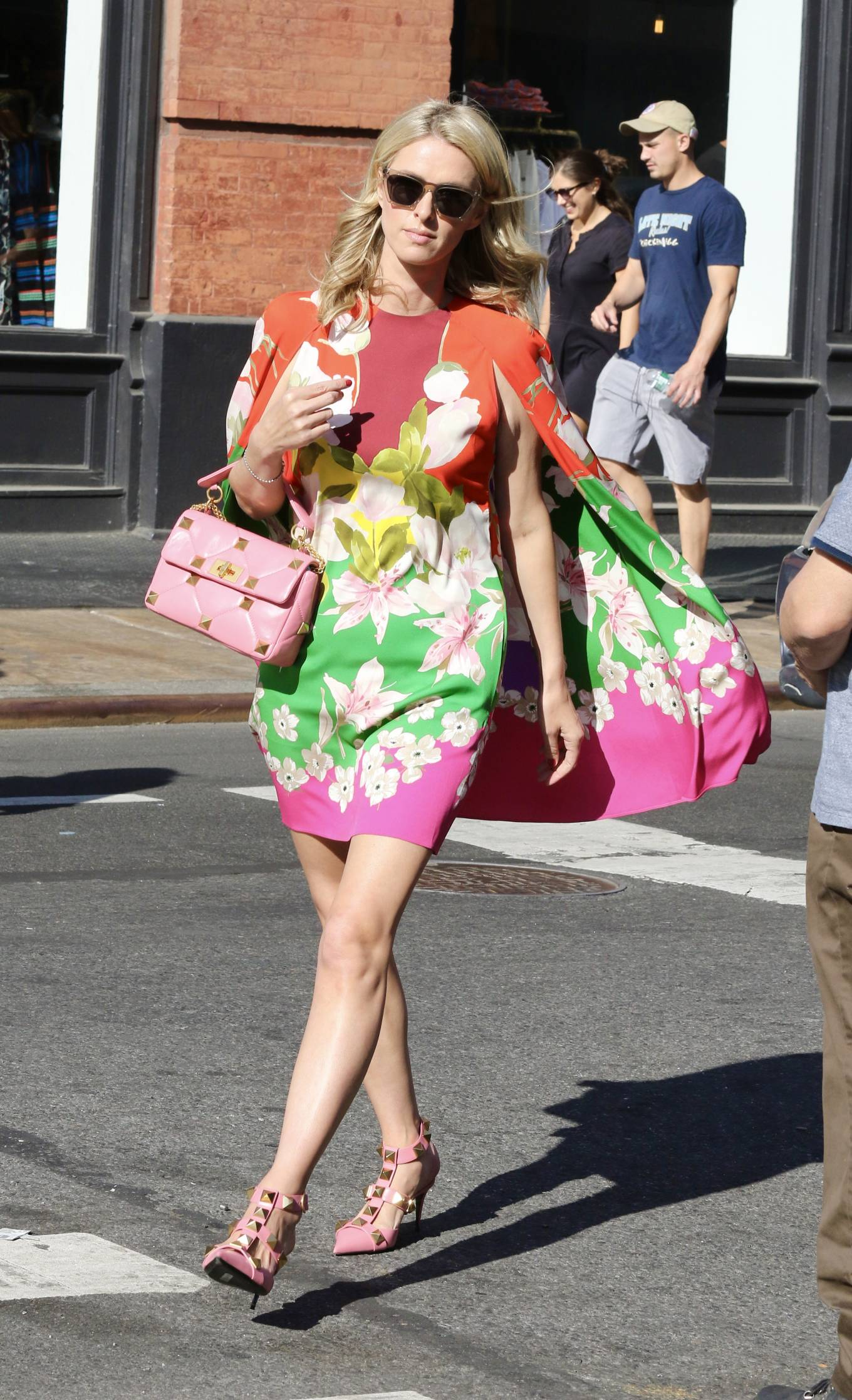 Nicky Hilton 2021 : Nicky Hilton – In floral dress out in New York-07