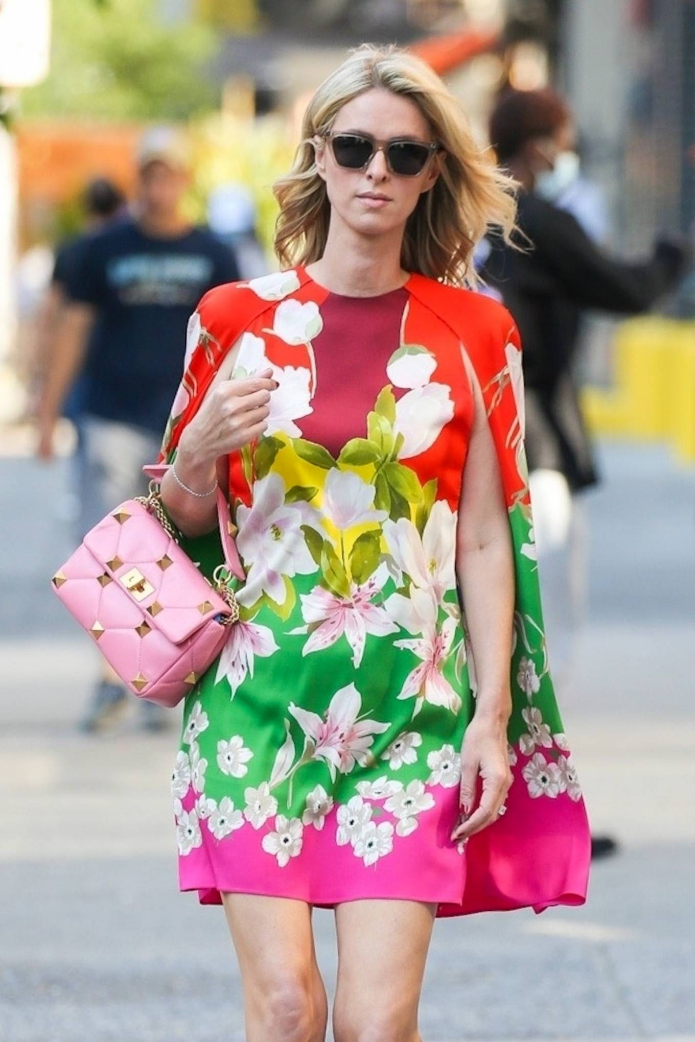 Nicky Hilton 2021 : Nicky Hilton – In floral dress out in New York-09