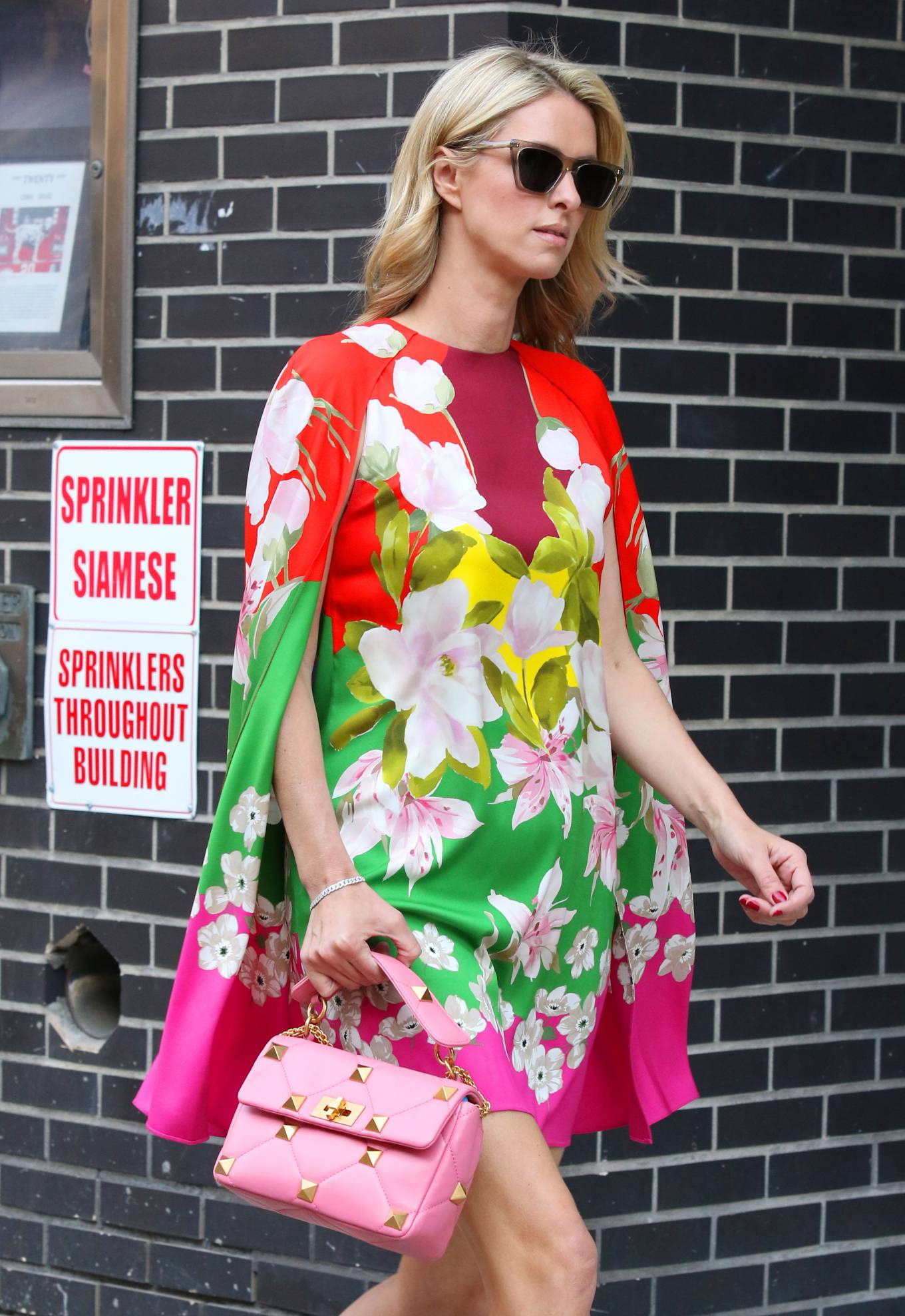 Nicky Hilton 2021 : Nicky Hilton – In floral dress out in New York-10