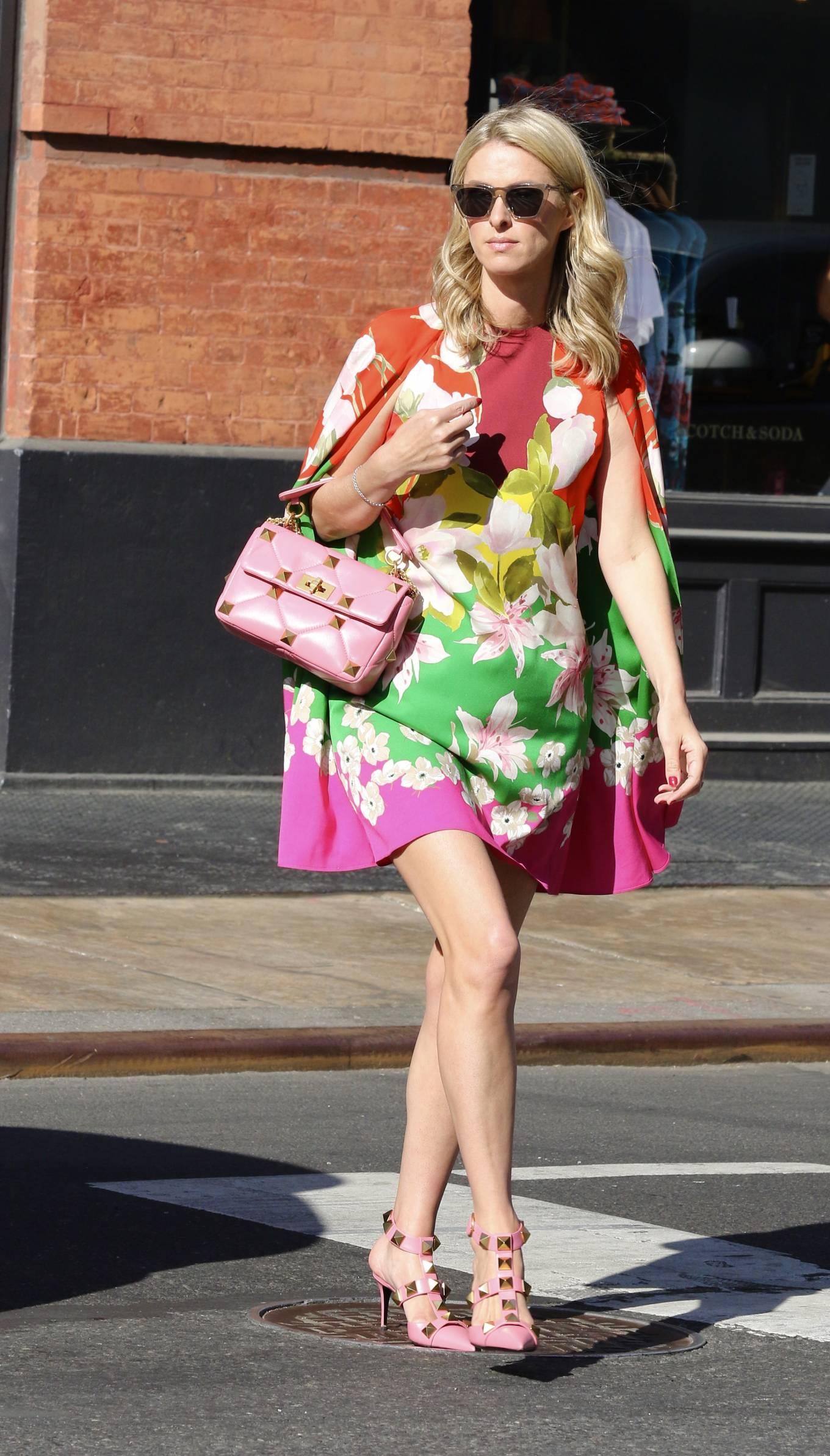 Nicky Hilton 2021 : Nicky Hilton – In floral dress out in New York-11