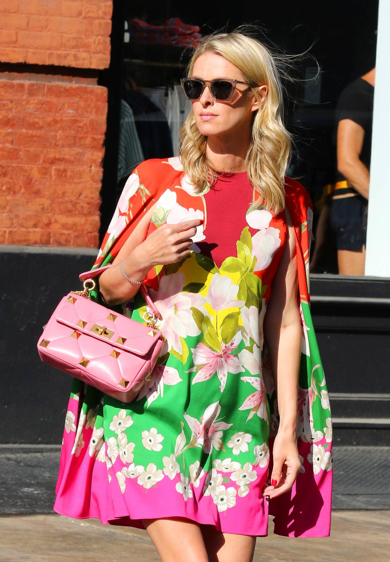 Nicky Hilton 2021 : Nicky Hilton – In floral dress out in New York-12