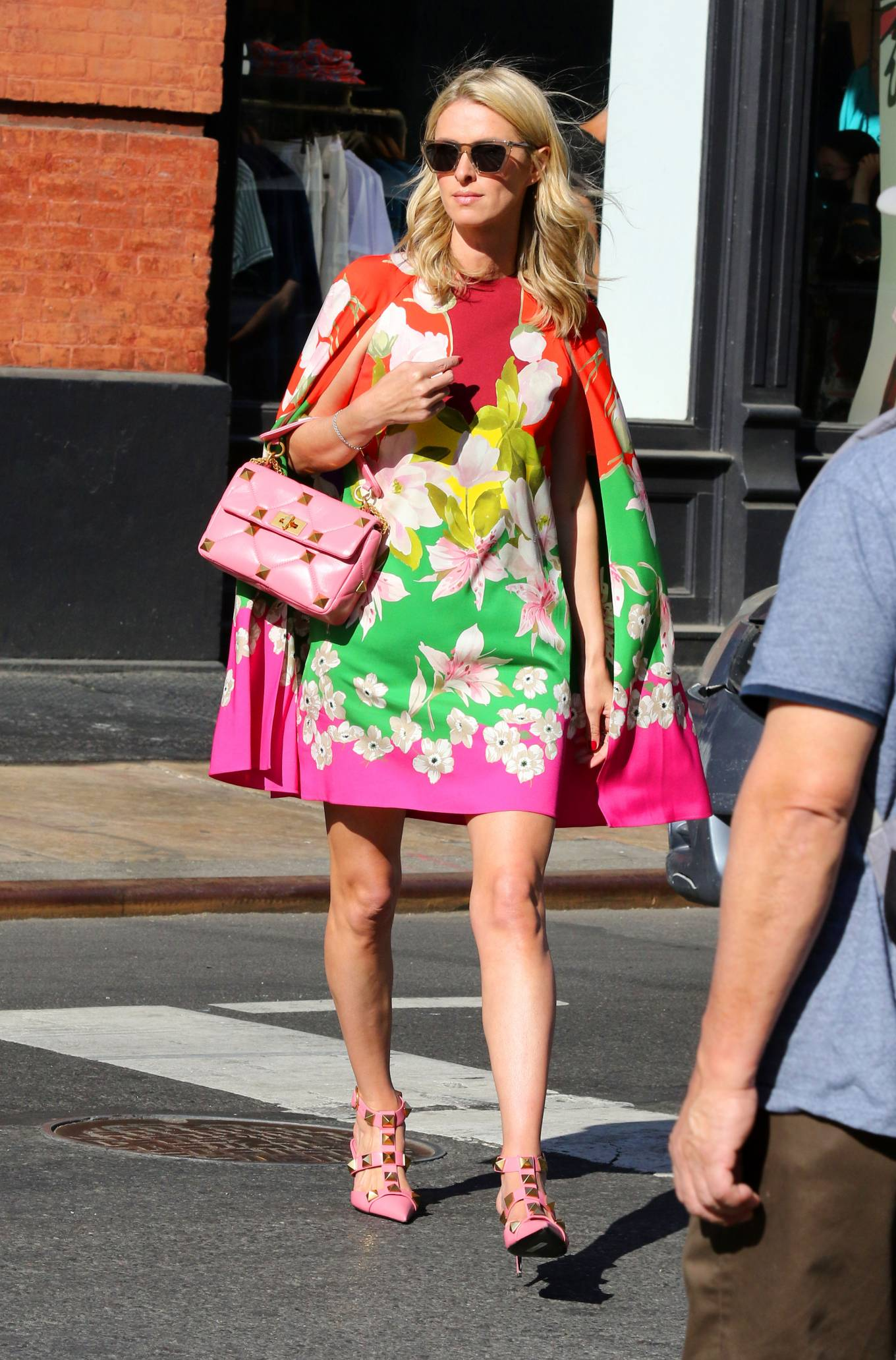 Nicky Hilton 2021 : Nicky Hilton – In floral dress out in New York-15