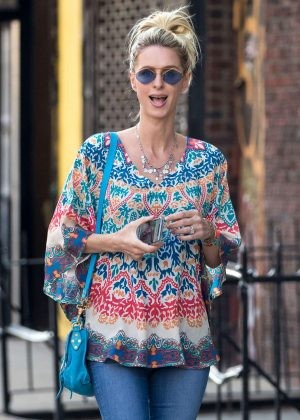 Nicky Hilton in Jeans Out in New York City
