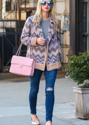 Nicky Hilton in Jeans Out in New York