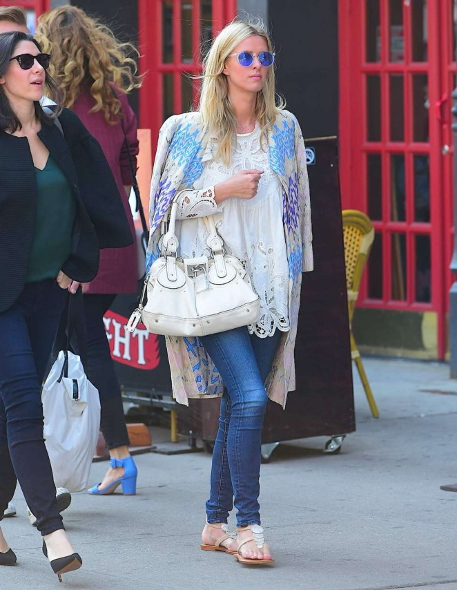 Nicky Hilton in Jeans out in NYC