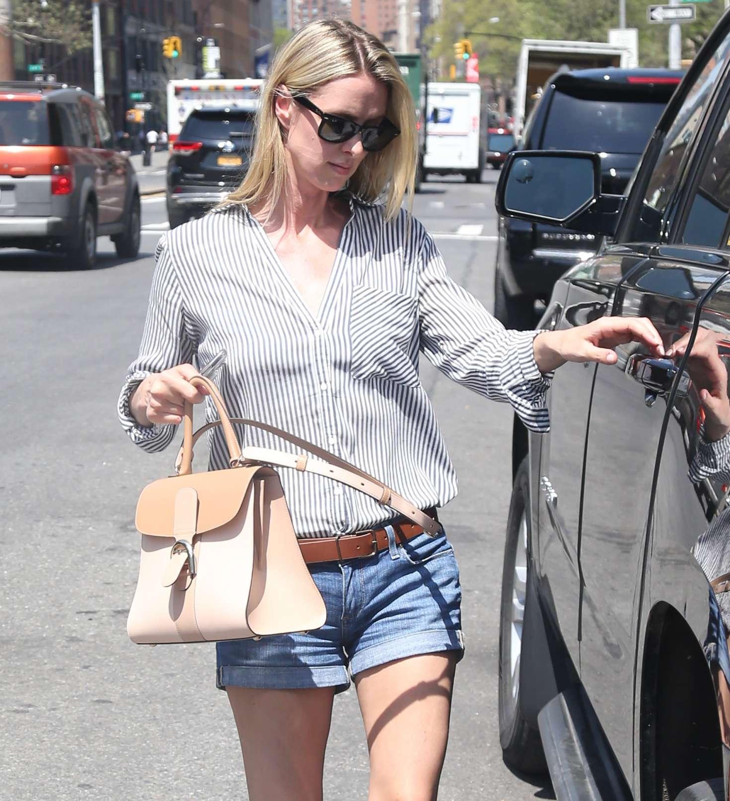 Nicky Hilton 2017 : Nicky Hilton in Jeans Shorts -04