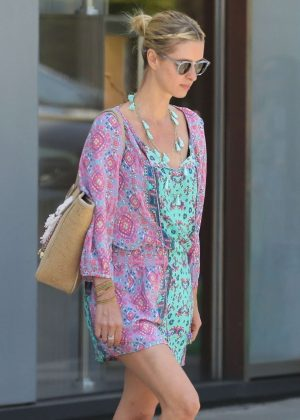 Nicky Hilton in Mini Dress - Out in Beverly Hills
