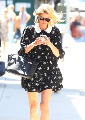 Nicky Hilton in Mini Dress - Out in New York City