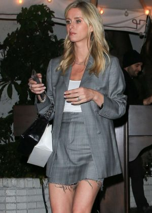 Nicky Hilton in Mini Skirt - Out in Los Angeles