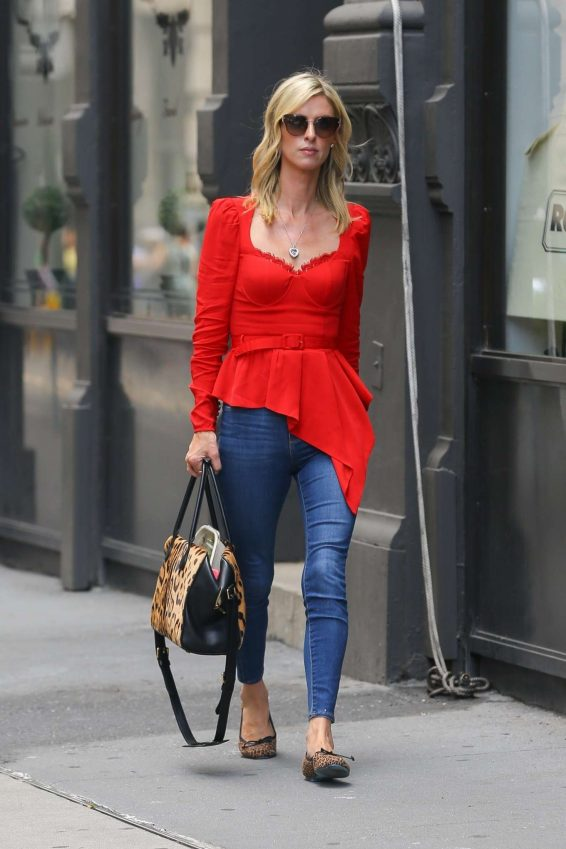 Nicky Hilton 2019 : Nicky Hilton in Red – Out in New York-09