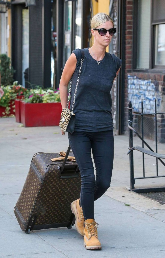 Nicky Hilton in Tight Jeans Out in NYC