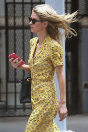 Nicky Hilton in Yellow Dress - Out and about in New York