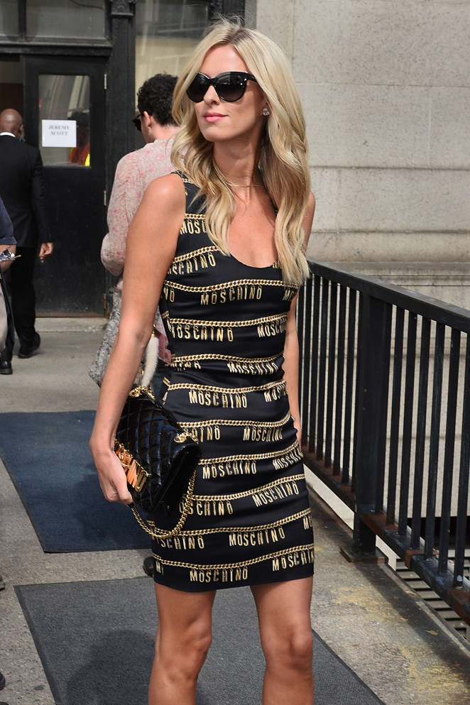 Nicky Hilton - Jeremy Scott Fashion Show Spring 2016 NYFW in NYC