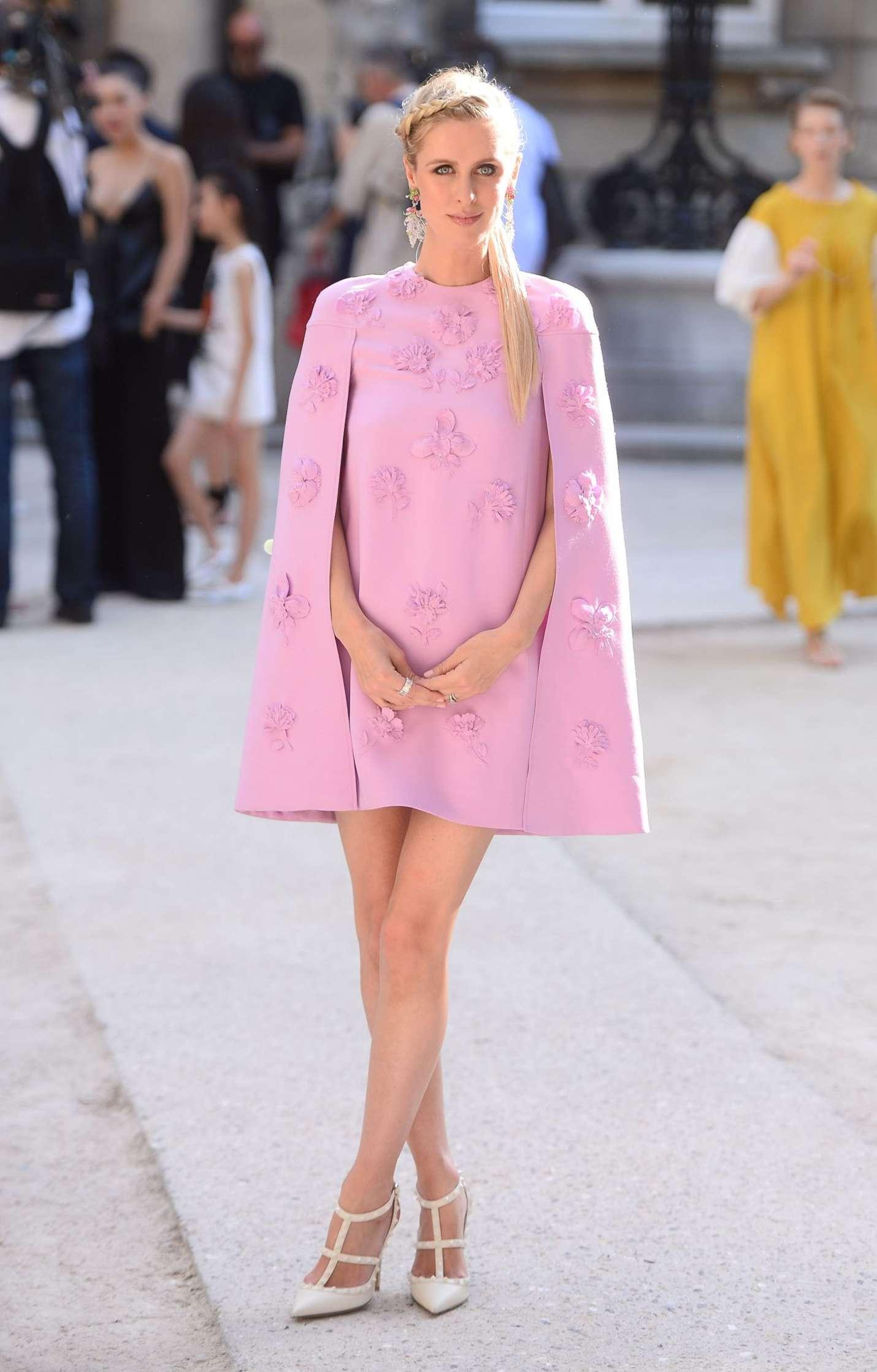 Nicky Hilton 2017 : Nicky Hilton: Leaves the Valentino Fashion Show 2017 -07