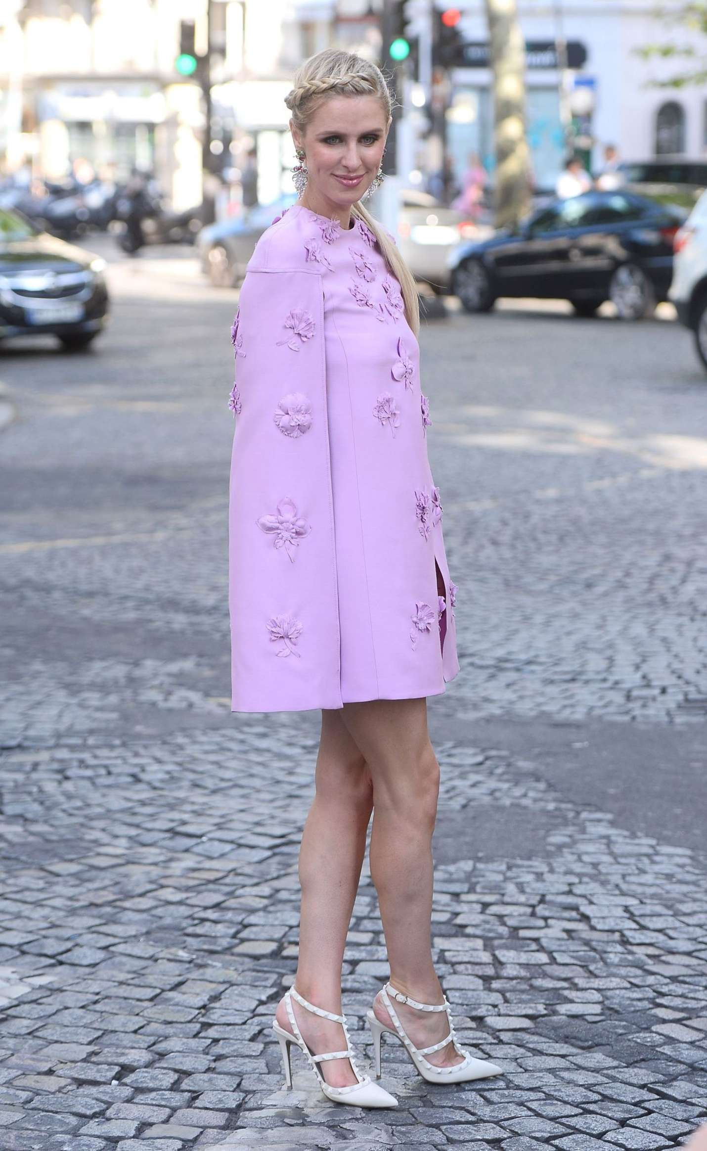 Nicky Hilton 2017 : Nicky Hilton: Leaves the Valentino Fashion Show 2017 -08