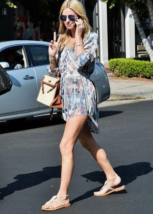 Nicky Hilton - Leaving 901 Salon in Los Angeles