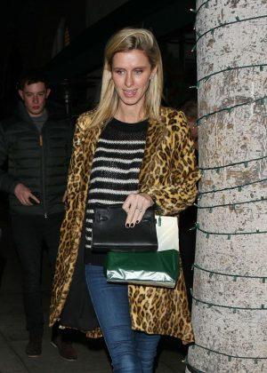 Nicky Hilton - Leaving Madeo restaurant in Beverly Hills