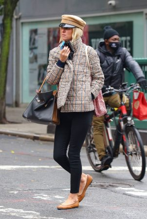 Nicky Hilton - Look stylish while out and in New York