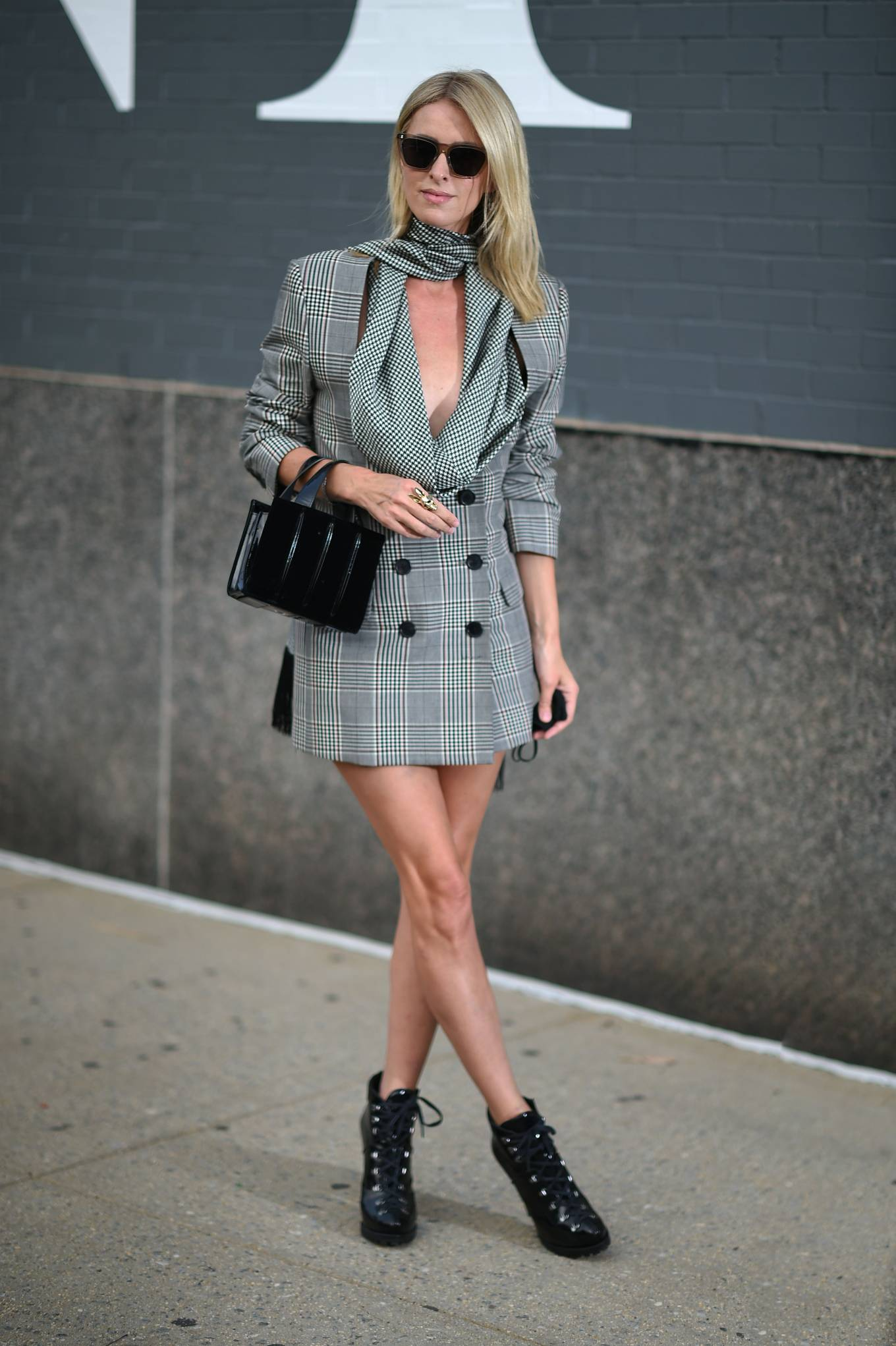 Nicky Hilton - New York Fashion Week - Monse Fall-Winter 2020 Presentation