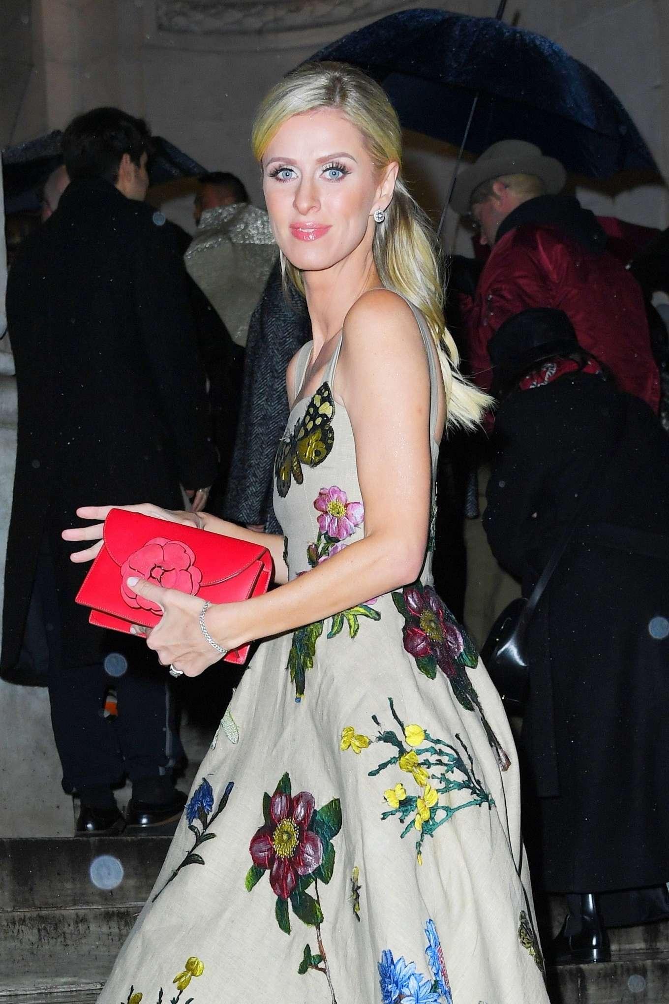 Nicky Hilton - Oscar de la Renta Fashion Show 2020 at New York Fashion Week