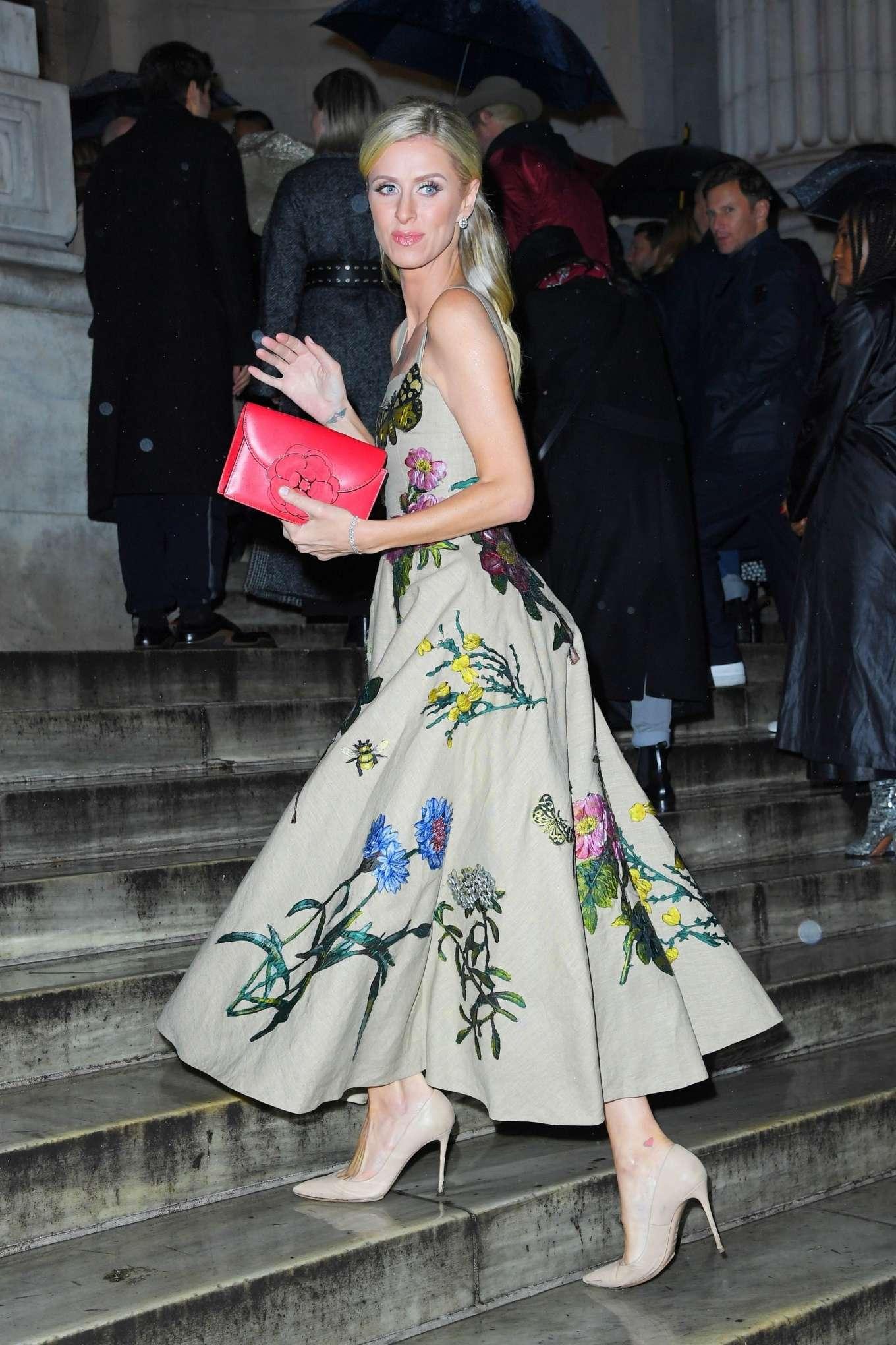 Nicky Hilton 2020 : Nicky Hilton – Oscar de la Renta Fashion Show 2020 at New York Fashion Week-07