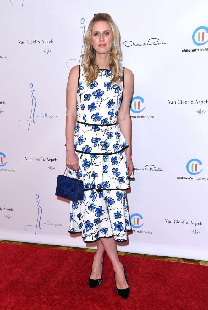 Nicky Hilton - Oscar de la Renta Spring Luncheon in New York City