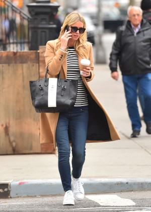 Nicky Hilton out in East Village