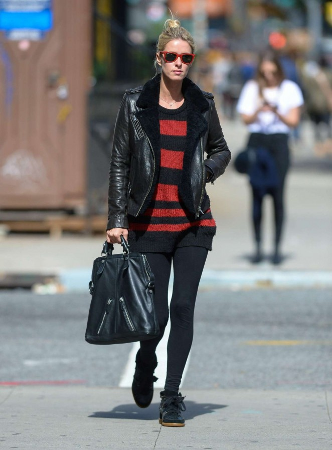 Nicky Hilton out in Manhattan