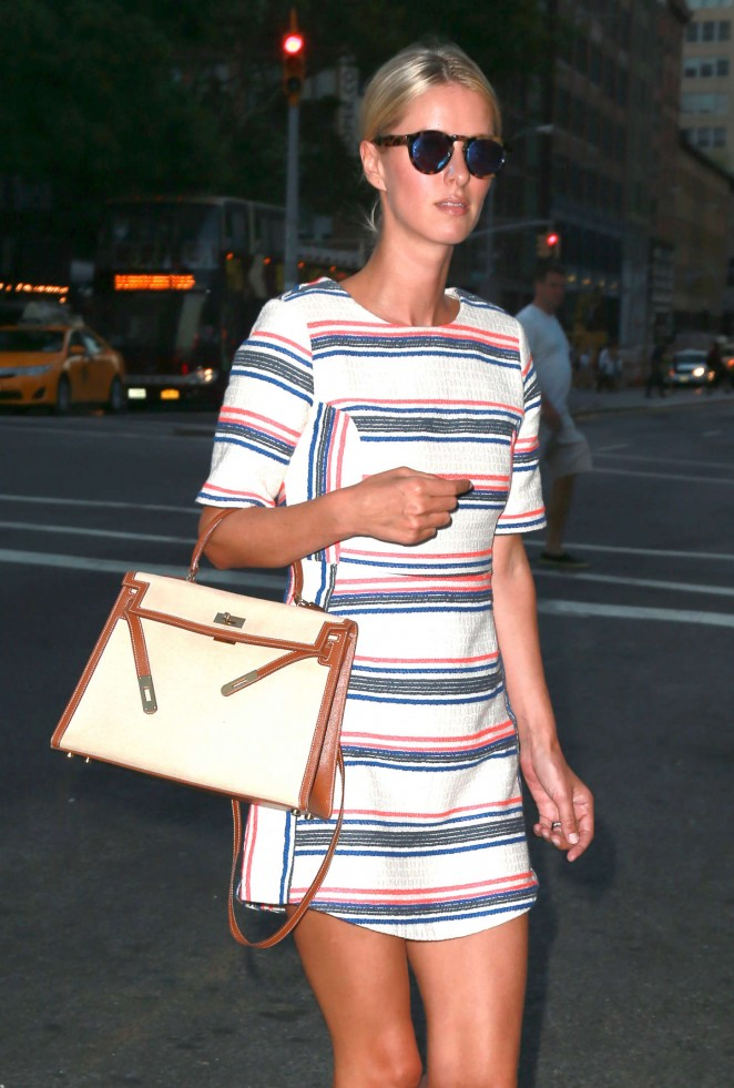 Nicky Hilton out in New York City