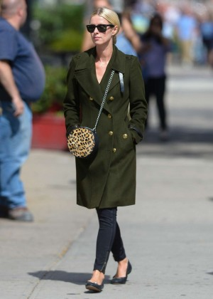 Nicky Hilton out in NY
