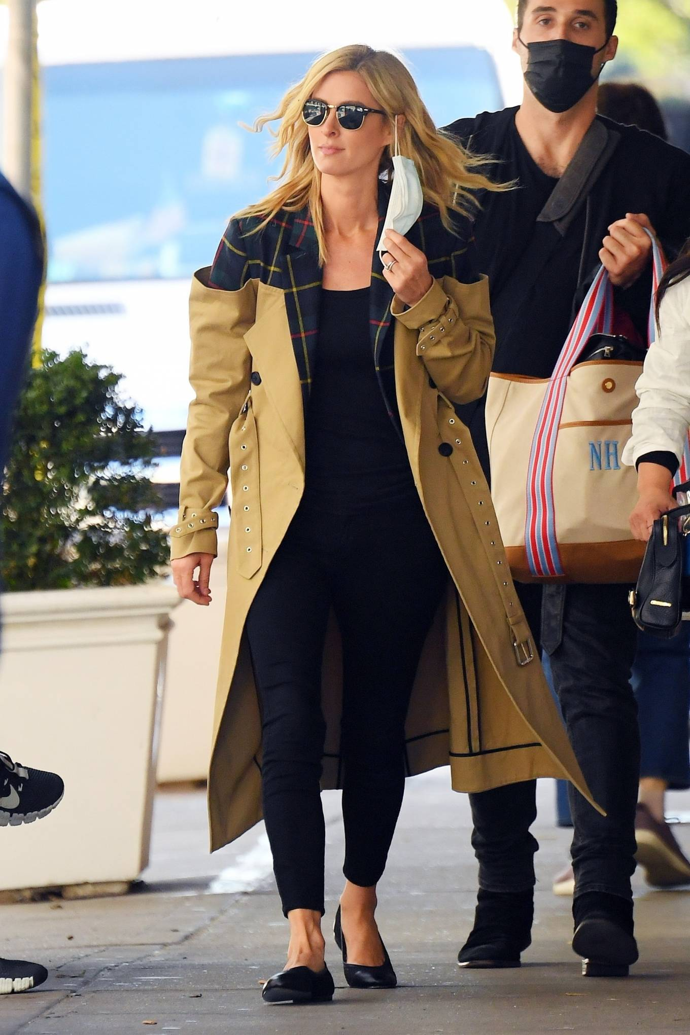 Nicky Hilton 2020 : Nicky Hilton – Photoshoot candids in SoHo-01