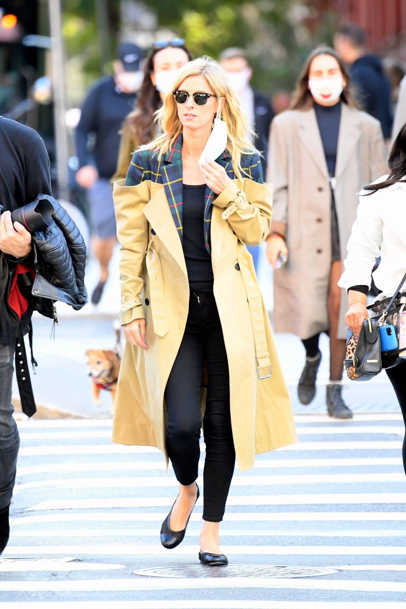 Nicky Hilton 2020 : Nicky Hilton – Photoshoot candids in SoHo-02