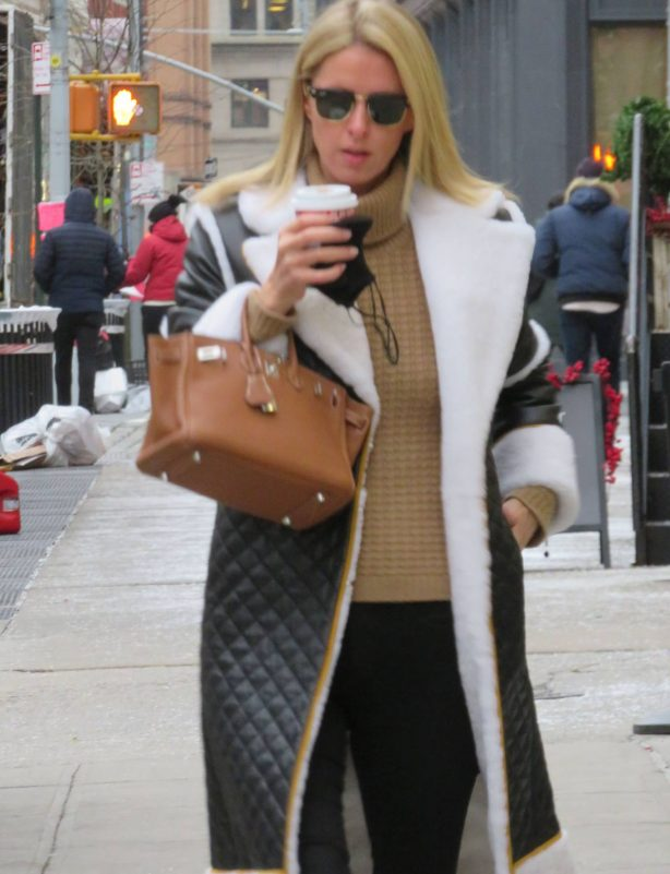 Nicky Hilton - Seen at Soho in New York