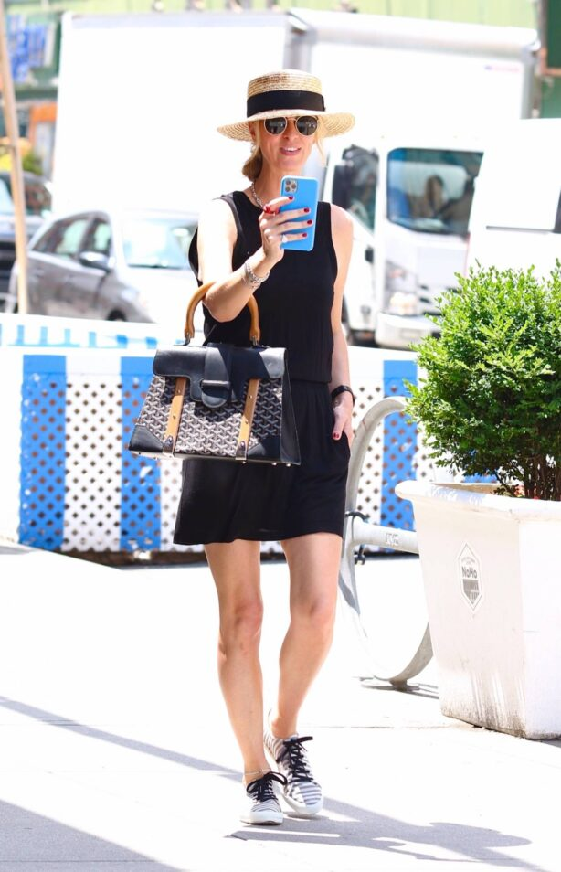 Nicky Hilton - Seen on a hot day in New York