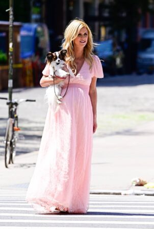 Nicky Hilton - Seen on a photoshoot in New York