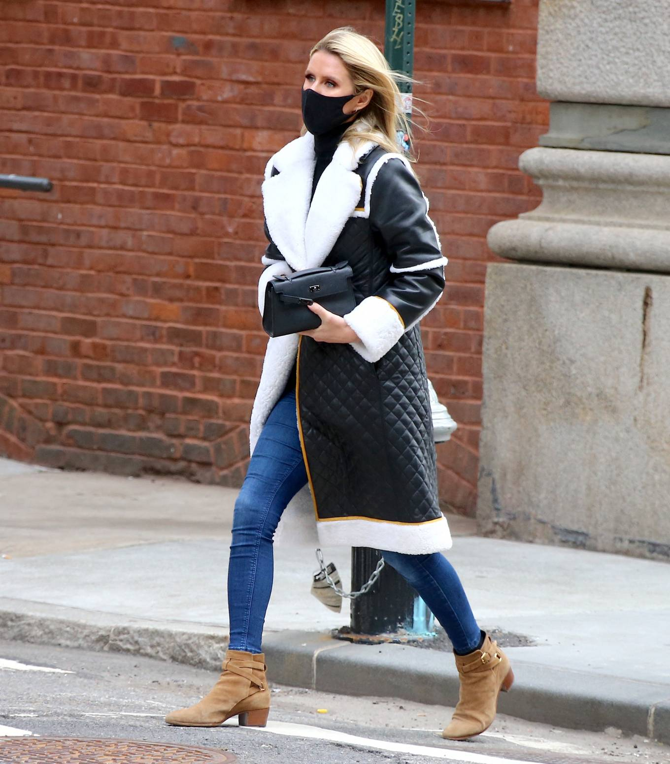 Nicky Hilton 2021 : Nicky Hilton – Seen on the street in Soho – New York-03