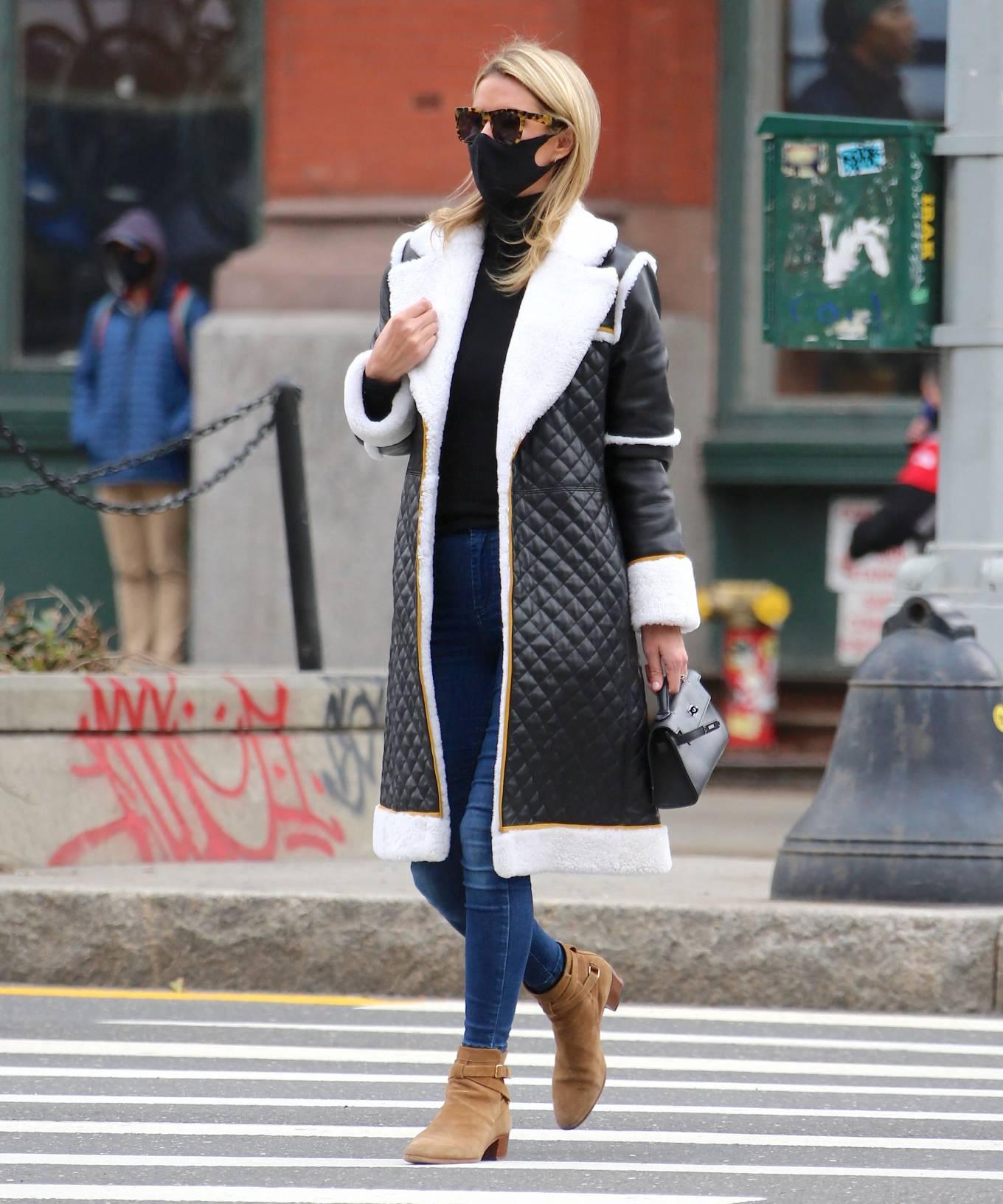 Nicky Hilton 2021 : Nicky Hilton – Seen on the street in Soho – New York-06