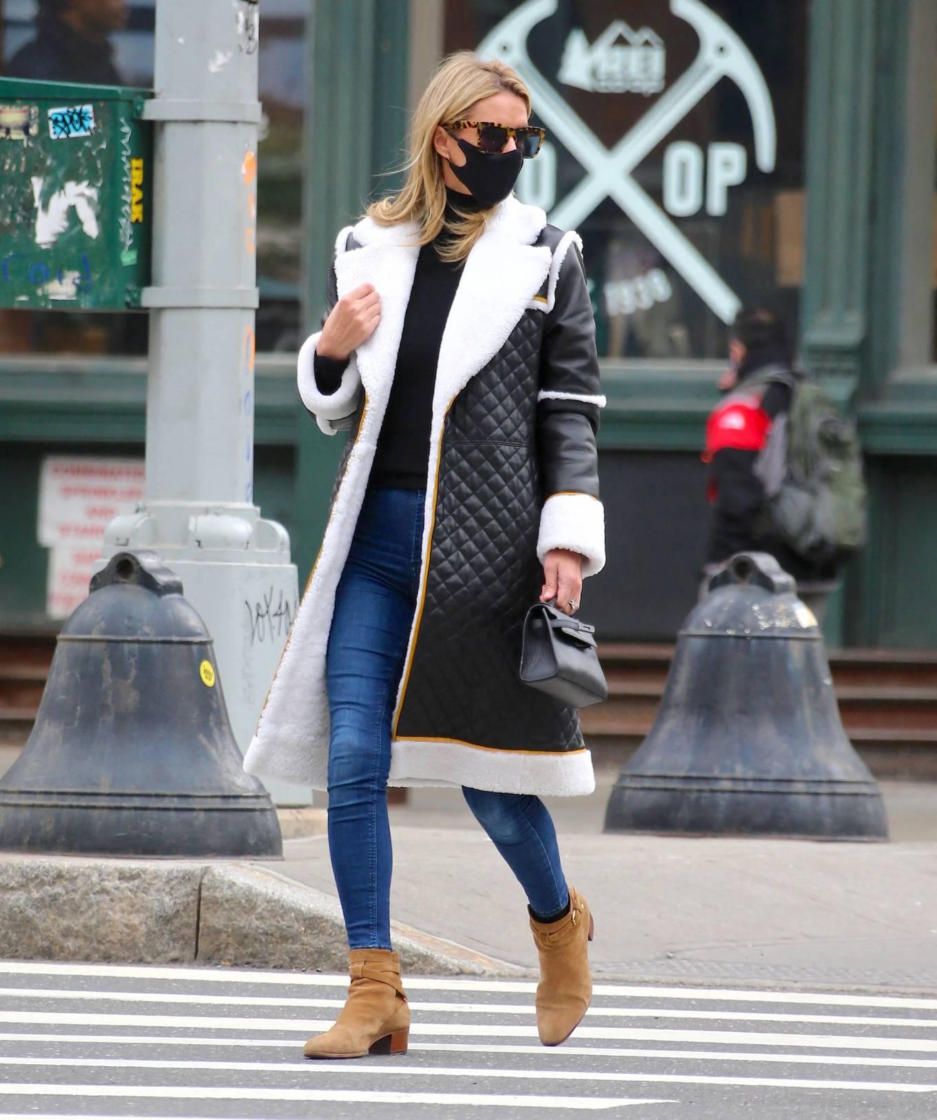 Nicky Hilton 2021 : Nicky Hilton – Seen on the street in Soho – New York-08