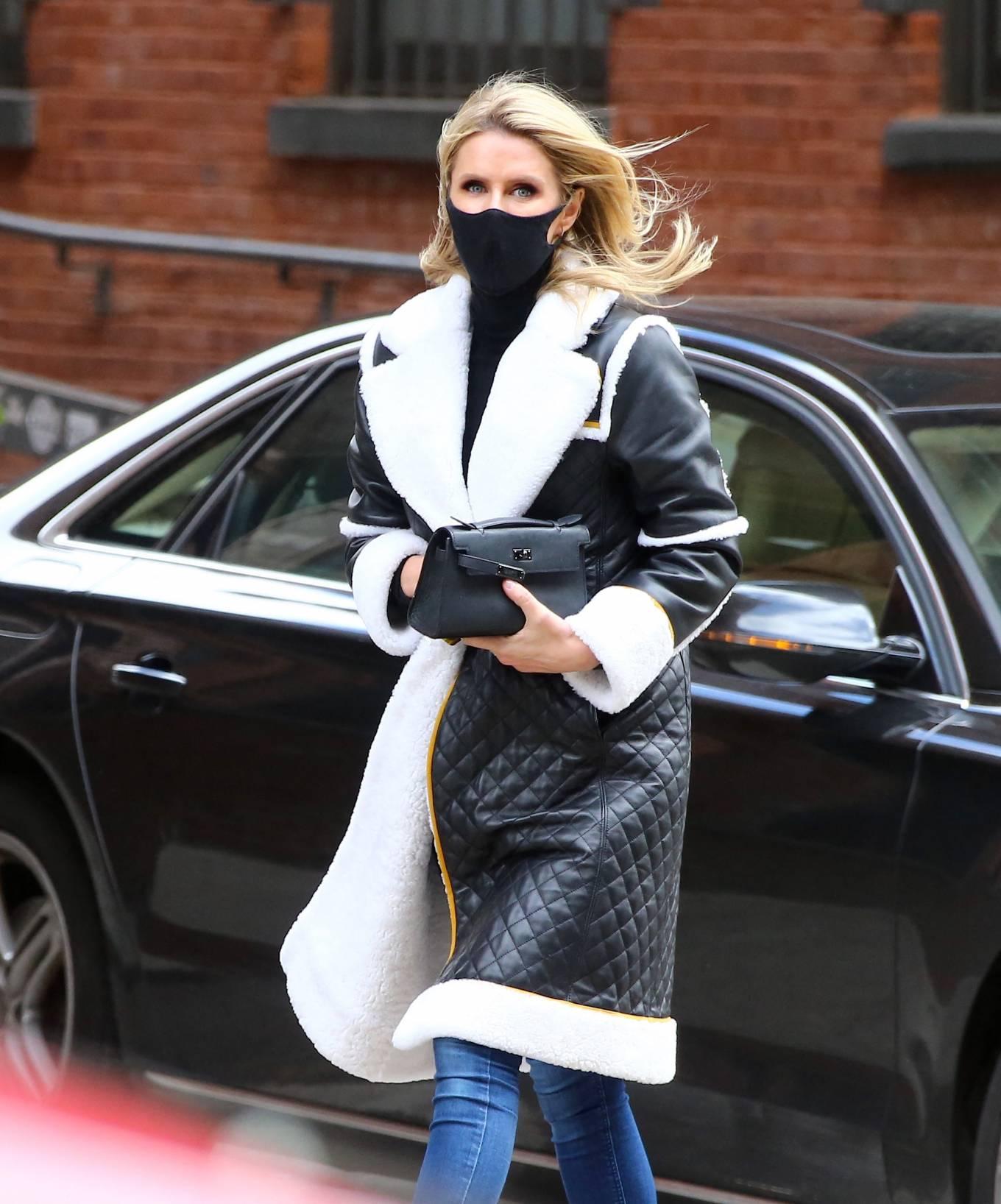Nicky Hilton 2021 : Nicky Hilton – Seen on the street in Soho – New York-09