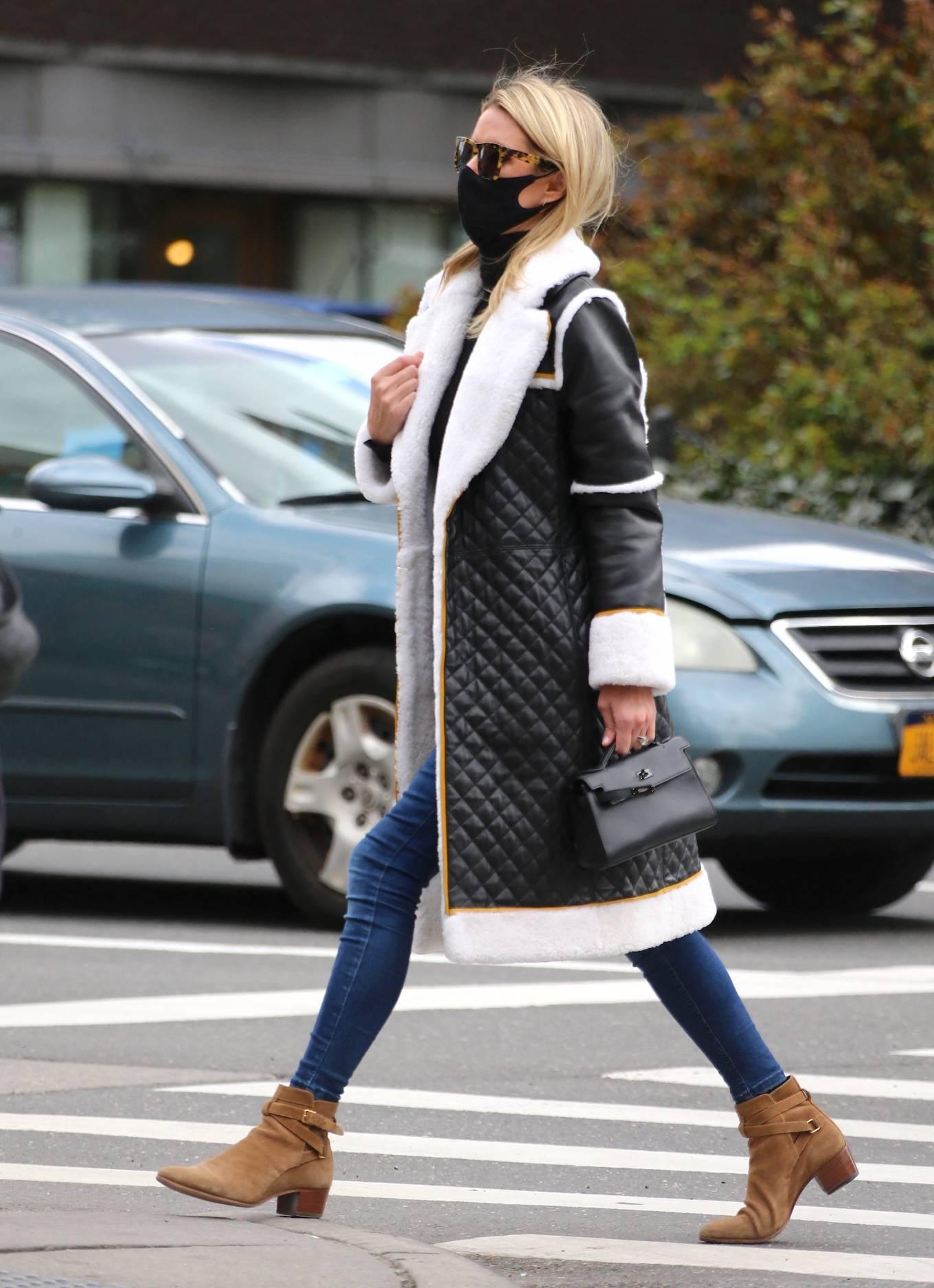 Nicky Hilton 2021 : Nicky Hilton – Seen on the street in Soho – New York-11