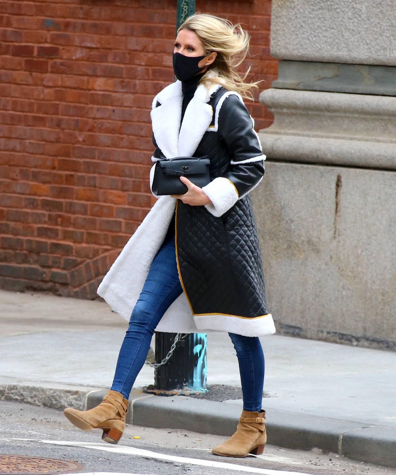 Nicky Hilton - Seen on the street in Soho - New York